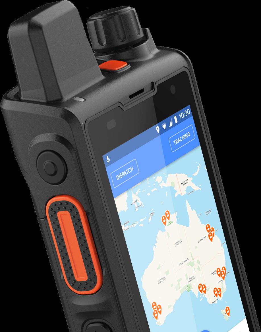 PTT GPS Radio
