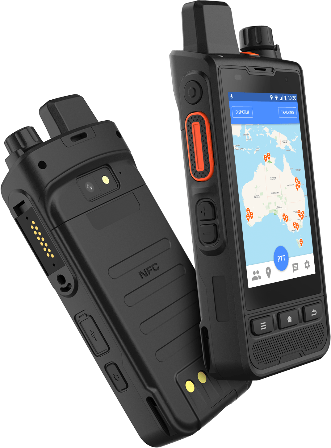 PTT GPS Tracking