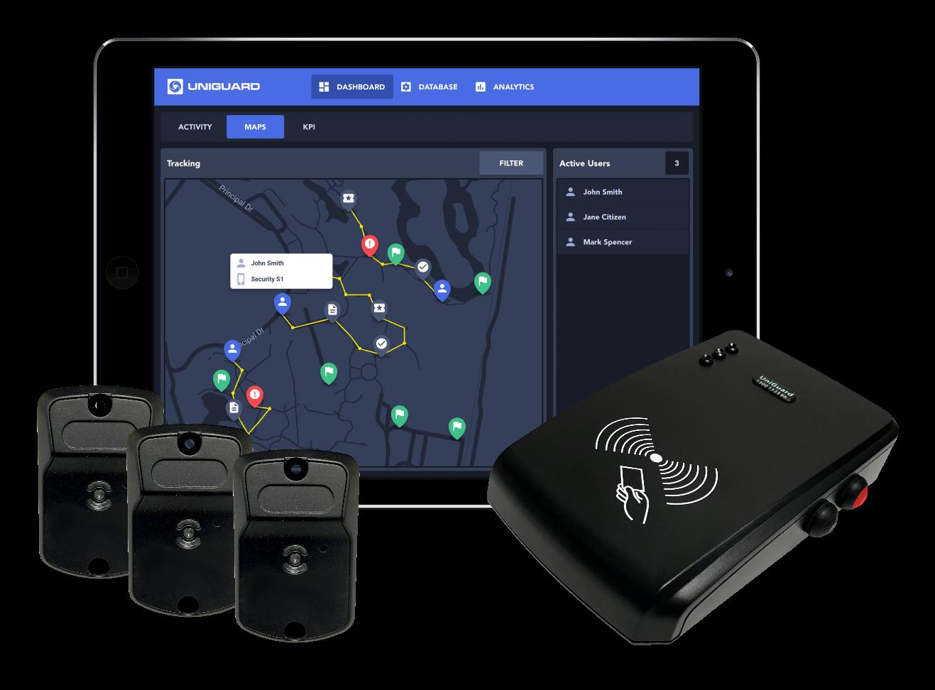 UniGuard car tracker system